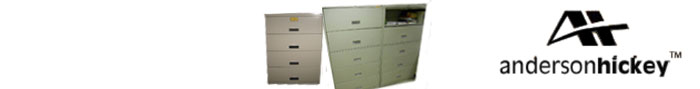Anderson Hickey File Cabinet Parts