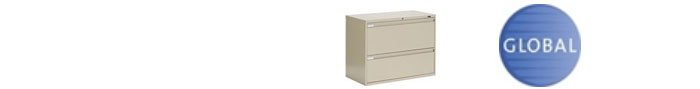 Global file cabinet parts